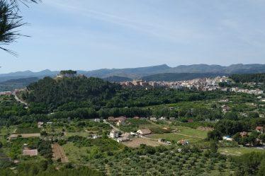 Vista Segorbe desde Pico Nabo